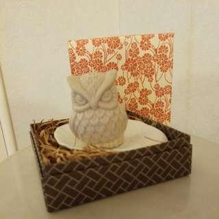 Owl貓頭鷹香薰花皂