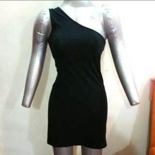 Authentic Black TOPSHOP toga dress