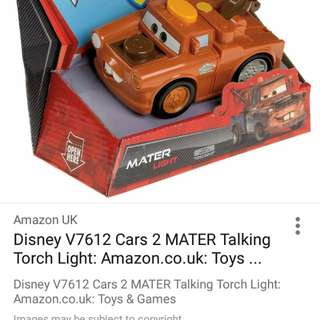 Disney cars (talking n torchlight)