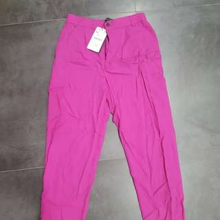 BNWT Zara purple pink trouser