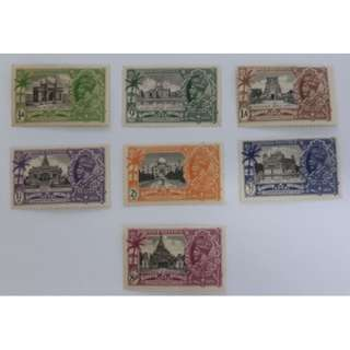 1935 India King George V Silver Jubilee Stamp (MH)