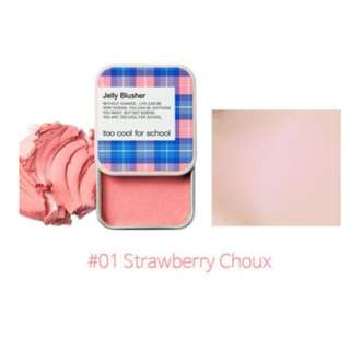 TOO COOL FOR SCHOOL Jelly Blusher - 01 Strawberry Chou