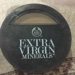 Foundation Extra Virgin Minerals The Body Shop