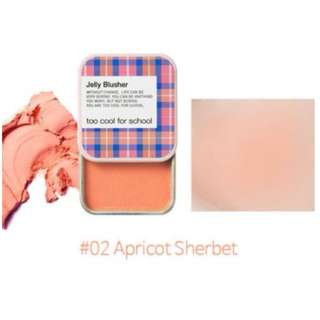 TOO COOL FOR SCHOOL Jelly Blusher - 02 Apricot Sherbet