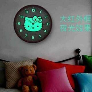 Hello Kitty Wall Clock