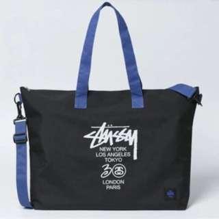日本直送雜誌包stussy側包男款