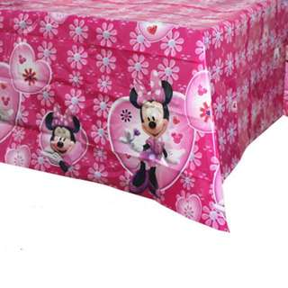 💕 Premium Range Minnie Mouse party supplies - party tablecloth