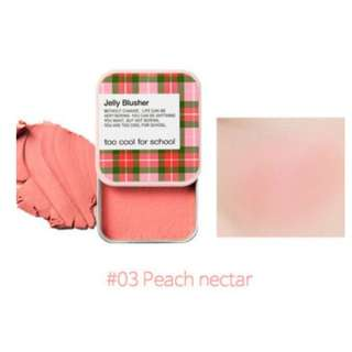 TOO COOL FOR SCHOOL Jelly Blusher - 03 Peach Nectar