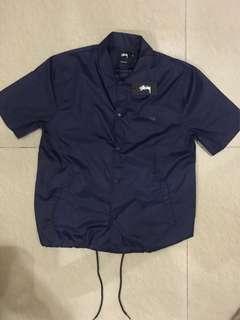 Stussy coach jacket short sleeve original 100%guarantee