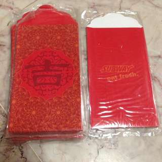(8 avail)Subway Angbao Red Packet