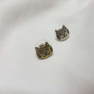 Forever 21 Cat Earrings