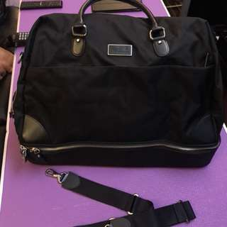 Agnes b voyage travel bag with lock