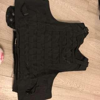 避彈衣 War Game Airsoft black vest