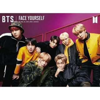 BTS Face Yourself Japanese Album