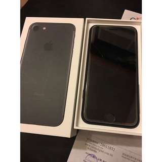 Iphone7 128GB Black 90%new