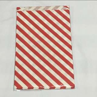 CLEARANCE SALES {Stationary - Gift Bag} BN DAISO Brand Red Paper Bag GIFT BAG