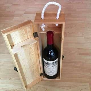 CLEARANCE SALES {Collectibles Item - Vintage Chateau Wine} Authentic Vintage Chateau Le Gay BORDEAUX 2009 (Vintage-Rating 94 Pts) Come With Wine Case/Box
