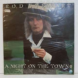 Rod Stewart - A Night On The Town Vinyl Record