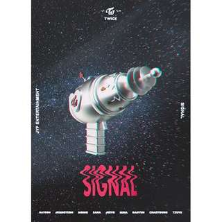 [PREORDER] TWICE Signal Monograph (Limited Edition)