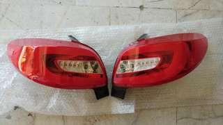 Peugeot 206 tail lamp