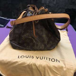 100% authentic Louis Vuitton Petit Zoe