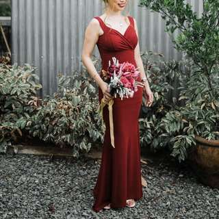 Offshoulder Gown FOR RENT