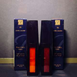 BNIB 2pcs. ESTEE LAUDER Lip Color
