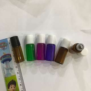 Essential Oil Glass Roller Bottle 3ml