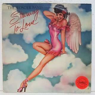 The Wonder Band - Stairway To Love Vinyl Record