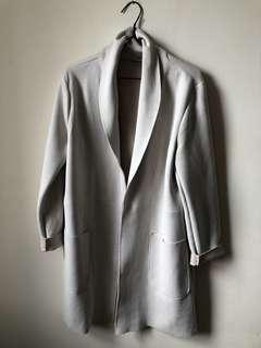 Zara faux-suede jacket