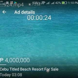 Cebu-Samboan Beach Resort For Sale