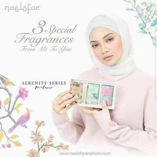 SERENITY SERIES PERFUME 3in1 SET