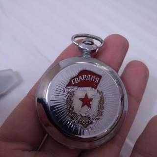 🚚 真品 蘇聯cccp 二次大戰 紀念 懷錶