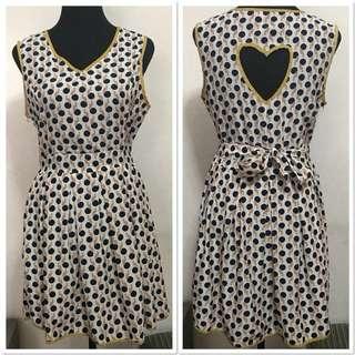 [Preloved] Shopaholic Polka Dots Dress