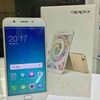 Brand new oppo f1s complete package..