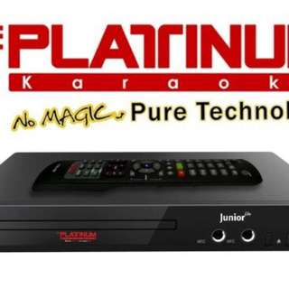 The Platinum Karaoke junior lite ks-5