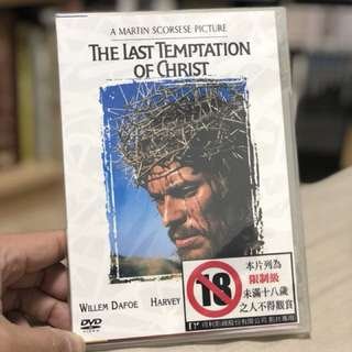 DVD MARTIN SCORSESE THE LAST TEMPTATION OF CHRIST