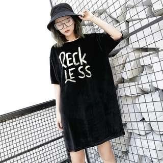 PO Ladies Simple Statement Dress