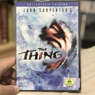 DVD CLASSIC ALIEN HORROR THE THING