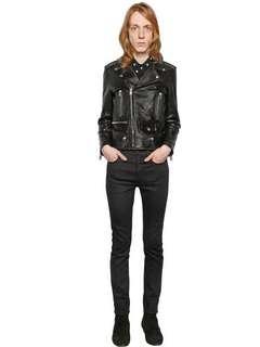 saint laurent paris L01 jacket leather hedi slp dior 40 42 L17 black