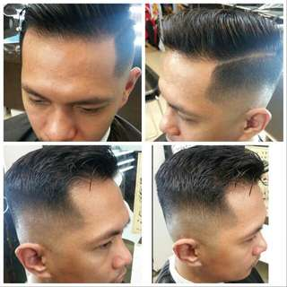 Barber service at profile asia No 139 jalan besar # 01 - 01 singapore 208857 Tel 62968639 Open daily 11. 30 to 9 .30 pm Booking available KEN GOH HP 81187155  Instagram : Kenlovesred