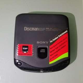 sony cd機,已壞,入電吾著,老香港懷舊物品古董珍藏
