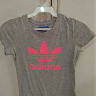 Authentic Adidas Gray T-shirt MEET UPS ONLY