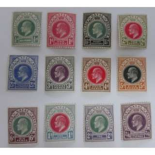Natal King Edward VII 1904-08 The Watermark Multiple Crown CA (MH)