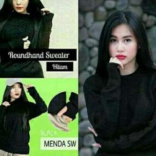 Sweater Rajut ROUNDHAND TERMURAH