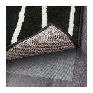 Ikea karpet hitam putih