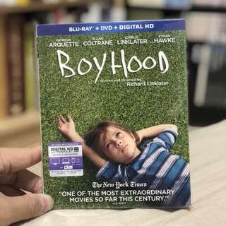 BLU-RAY + DVD BOYHOOD