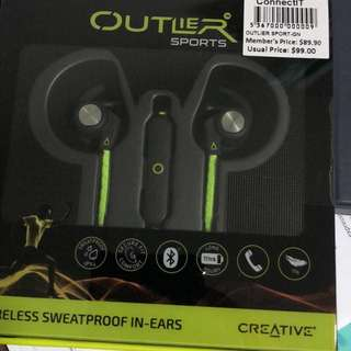 Creative Outlier Sport Wireless Headphones