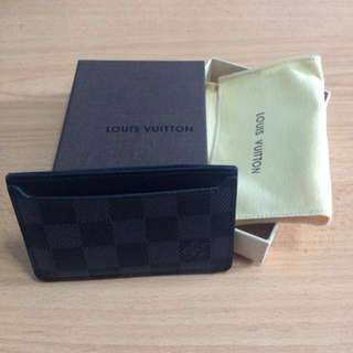 (Price Reduced) Almost Brand New Louis Vuitton Cardholder