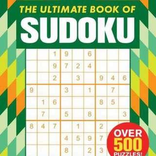The ultimate book of sudoku